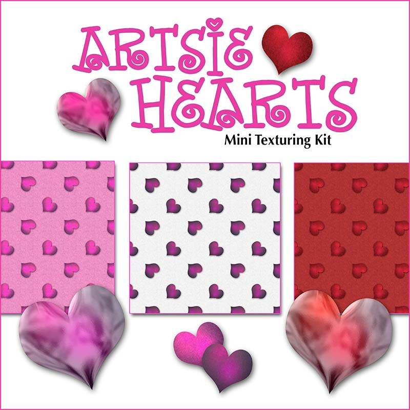 Free Scrapbook Hearts