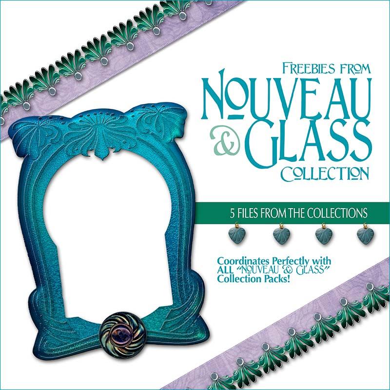Free Scrapbook Nouveau