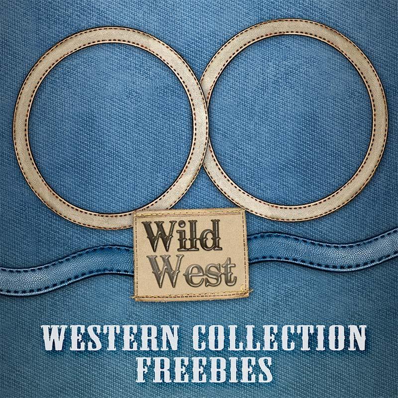 Free Scrapbook Western
