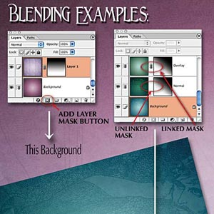 Blending Scrapbooking Papers