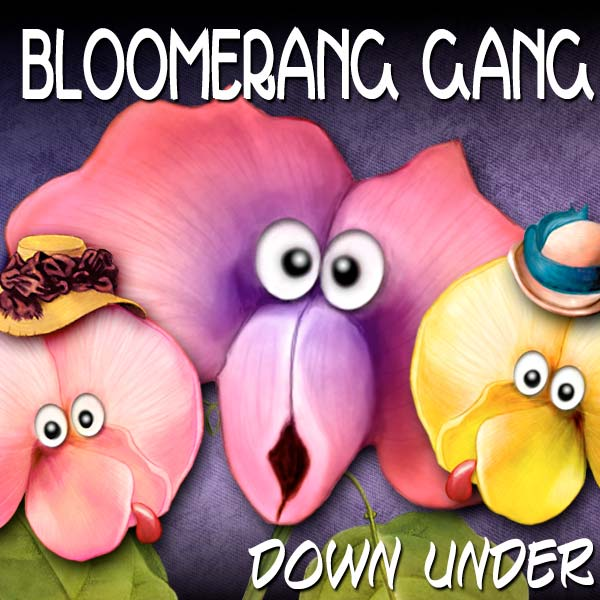 Digital Scrapbooking Kits - Bloomerangs Down Under