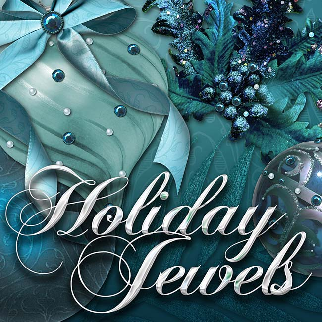 Digital Scrapbooking Kits - Holiday Jewels