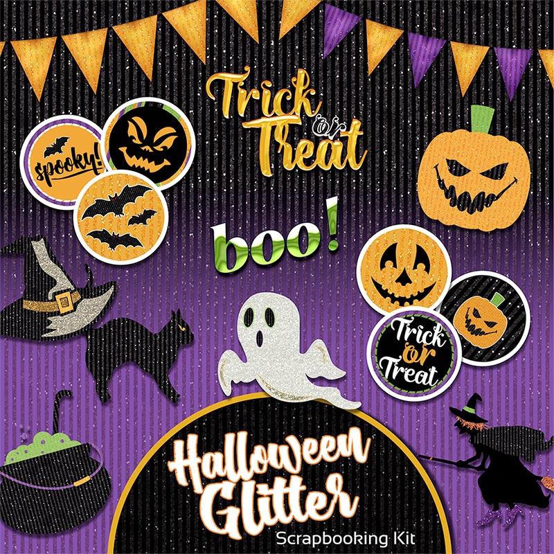 Do It Yourself Home Design: Halloween Digital Scrapbooking Kit